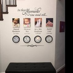 Positive Quotes Discover Custom Wall Decal In These Moments Family Names Dates Vinyl Wall Lettering Home Decoration for Photo Wall Home and Family Wall Quote Family Wall Quotes, Family Wall Decor, Hallway Wall Decor, Custom Wall, Custom Paint, Christian Wall Decals, Christian Decor, Christian Women, Baby Girl Birth Announcement