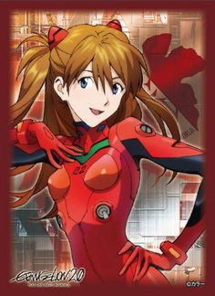 Character Sleeve Collection - Evangelion: 2.0 You Can (Not) Advance [Shikinami Asuka Langley] by Broccoli. $18.94