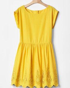 Ebay yellow dress girl picture