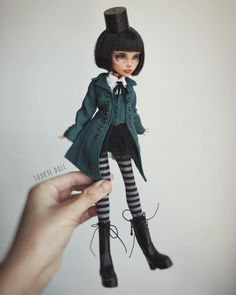Repaint the Interior of Your Home Custom Monster High Dolls, Monster Dolls, Monster High Repaint, Custom Dolls, Ooak Dolls, Blythe Dolls, Art Dolls, Ever After High, Steampunk Dolls