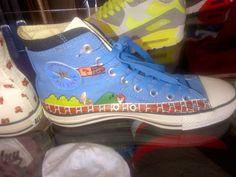 #Converse #All_Star #SuperMario #dope #kicks