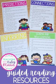 I believe that guided reading is one of the most powerful times of the day, & I wanted to make sure teachers had simple and effective tools at their fingertips to use! When I began guided reading, I had no idea what to do but, now I understand that there are many simple things I can do to support & plan for my readers! This pack is ideal for kinder-2nd grade teachers who work with readers at level A-S. | Balanced Literacy | Reading | Reading Strategies |