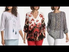 Printables, Outfits, Sewing, Blouse, Youtube, Tops, Women, Fashion, Ladies Outfits