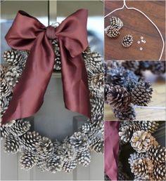10 Genius DIY Ways to Transform Pinecones into Holiday Decorations