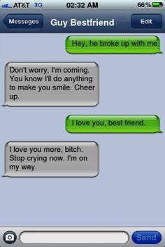 I want a guy bestie!