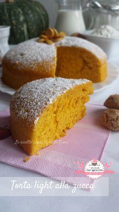 Torta light alla zucca (103 calorie a fetta) | Le Ricette Super Light Di Giovi
