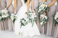 """189 Likes, 5 Comments - The White Magnolia (@whitemagnoliabridal) on Instagram: """"Perfect color palette from our Tampa Bride, Golbahar! We are absolutely in love with this chic,…"""""""