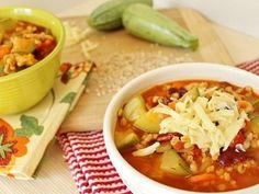 Not a fan of chili but if it has barley in it, it cna't be bad.   Vegetable Barley Chili by Running to the Kitchen