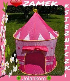 Namiot Pałac Księżniczki  i księcia  dostępny w naszym sklepie w kolorach: różowy i niebieski #namiot #palace #zamek #domek #książka #ksiaze #roz #niebieski #zabawa #ogród #chlopiec #dziewczynka #dzieci #slonce #shop #skleponline #prodekol...