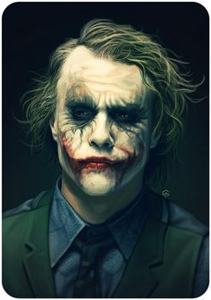 Heath Ledger | The Joker | ❥