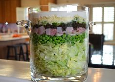 mom's layered salad – Betty's Cook Nook