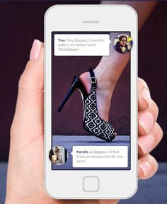 Ask Zappos - digital assistant that helps you track down any fashion item, even if the company doesn't sell it