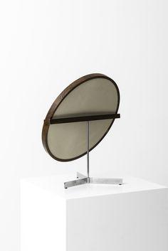 Uno & Östen Kristiansson table mirror in rosewood at Studio Schalling