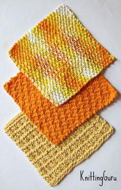 6 Ecofriendly Knit Dishcloth Patterns Tutorials E-book PDF | Etsy Dishcloth Knitting Patterns, Crochet Patterns, Knitting Stiches, Crochet Ideas, Paper Towel Crafts, Paper Towels, Knitting Projects, Crochet Projects, Teaching Patterns