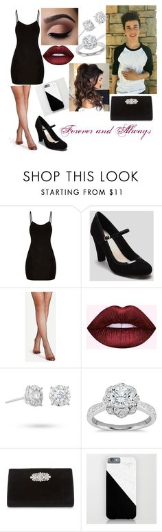 """""""Date With Hunter Rowland for Eme❤"""" by bluecloudgirl ❤ liked on Polyvore featuring Masquerade, Zac Posen and Badgley Mischka"""