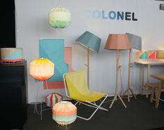 Présente pour la première fois à Maison & Objet, la marque Colonel décline ses teintes fraîches et lumineuses sur une collection de luminaires particulièrement aboutie. Made In Design est fan !