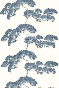 Timorous Beasties Fabric - Japanese Tree