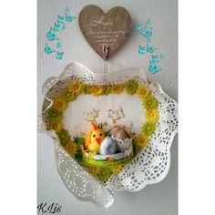 Po prostu K.Lis: Wielkanocne serce 💗 🐣
