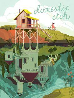 Domestic Etch-- Kali Ciesemier