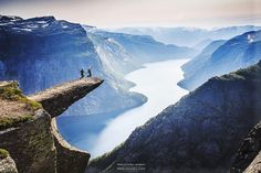 Trolltunga - Norway is a geographical rarity because its length from north to south gives it one of the greatest varieties of environments in a single country in Europe – from deciduous forests to arctic tundras. It should be a far colder and icier country than it is, but its temperatures are somewhat regulated by the relatively warm North Atlantic and Norwegian currents.