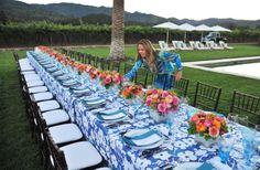 Set Sip Serve   Hillary Thomas' Napa Dinner Party