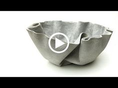 ShapeCrete :: Draped Planter HHow to ShapeCrete :: Make a Draped Concrete PlanterDiscover thousands of images about Flower pot made from old towel and quick dry cement.Molded concrete planter using vinyl fabricArts And Crafts For PreschoolersMake the Diy Concrete Planters, Concrete Crafts, Concrete Garden, Concrete Projects, Plaster Crafts, Plaster Art, Wall Planters, Succulent Planters, Garden Planters