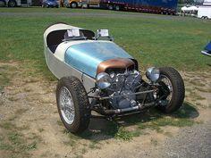 Honda based reverse trike