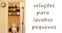 Ideias criativas e dicas para decorar o lavabo de sua residência.   #Decor #DecorBathroom #bathroom #Lavabo #idea #Banheiro