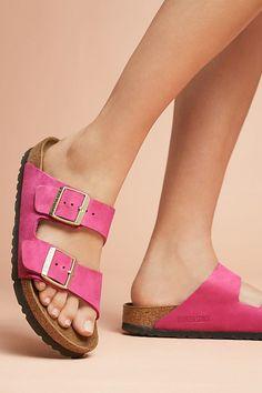 354146e05a4f19 Birkenstock Arizona Sandal Pink 90er Mode