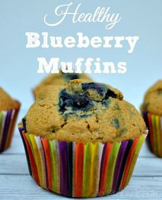 Need a clean eating option for breakfast or a snack? These Healthy Blueberry Muffins are perfectly fabulous!
