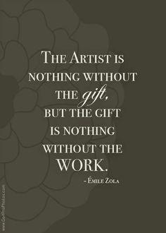 art words of wisdom