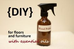 Is your wood furniture or flooring starting to look dull and lifeless? Try this easy recipe to bring back the shine: http://doterrablog.com/diy-wood-furniture-and-floor-polish-with-essential-oils