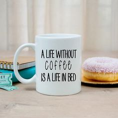 #Funny #quote mugs, life without #coffee mug, gift for friends colleagues family,  View more on the LINK: 	http://www.zeppy.io/product/gb/2/221968061271/
