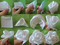 flores de cetim,flores, artesanato em cetim, artesanato, handmade, @temarteemtudo