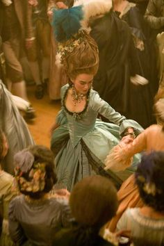 Keira Knightley as Georgiana, Duchess of Devonshire in The Duchess