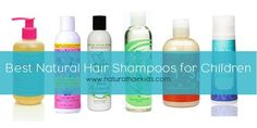 6 of the Best Natural Hair Shampoos for Children - Natural Hair Kids Natural Hairstyles For Kids, Little Girl Hairstyles, Diy Hairstyles, Children Hairstyles, Love Natural, Natural Hair Tips, Natural Hair Styles, Natural Kids, Natural Hair Shampoo