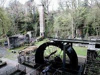 Water Wheel, the old Iron Works in Aberdulais
