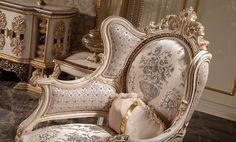 Luxury Sofa, Chair, Furniture, Home Decor, Decoration Home, Room Decor, Home Furnishings, Stool, Home Interior Design