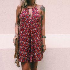 Dress Purple Print
