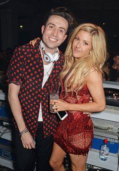 Pin for Later: Wer ist eigentlich noch nicht mit Ellie Goulding befreundet?! Ellie Goulding mit Nick Grimshaw