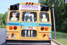 Kids and animals followed Ginny to the State Fair of Virginia.