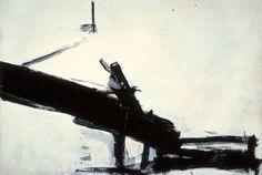 """Franz Kline: """"Monitor"""", Oil on canvas, 1956"""