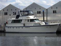 1987 Hatteras 53 Motor Yacht Power Boat For Sale - www.yachtworld.com