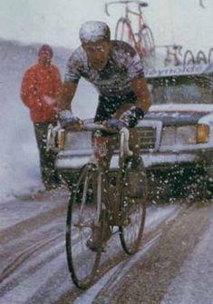 Pedro Delgado Giro 88 .El Paso del Gavia (el infierno helado)