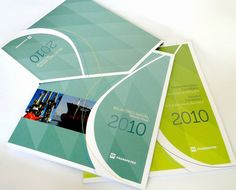 My love of Graphic Design begins with Annual Reports. Sometimes tedious but the beautiful end product makes it all worth it.