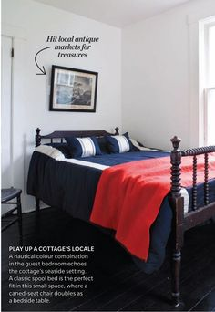 Cabin Bed No. 2: canadian house and home - july 2010 - photos by janet kimber - home of toronto stylist deb nelson