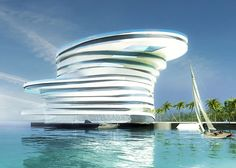 Leeser Architecture, an internationally recognized design firm, has won a invited competition for a five-star luxury hotel in the Zayed Bay in Abu Dhabi, UAE
