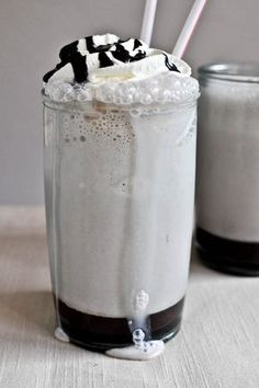 Hot Fudge Bourbon Milkshake by howsweeteats. #Milkshake #Hot_Fudge #Bourbon