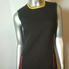 Juicy Couture Black Rastafari Dress Sz 4 *Worn 1x