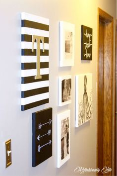 DIY Canvas Wall Art and Link Party - Refashionably Late